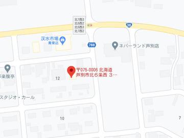 こぐま渓水店MAP