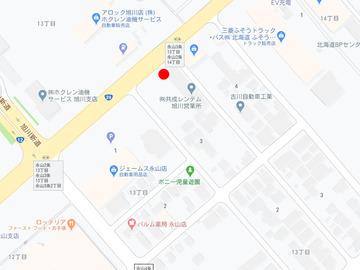 熊ッ子ドライブイン永山MAP