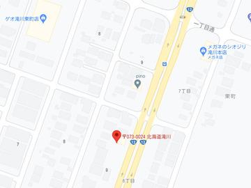 こぐま滝川店MAP