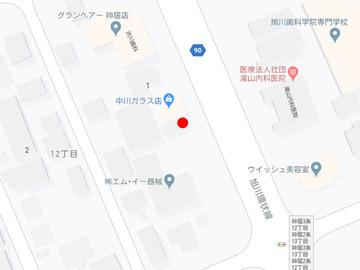 こぐま神居店MAP