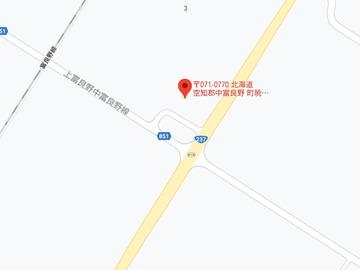 こぐま中富良野店MAP