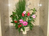 エントランス生花