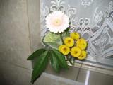2月エレベーター前の花