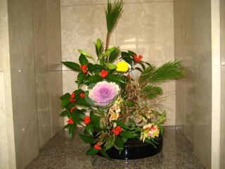 1月の生花