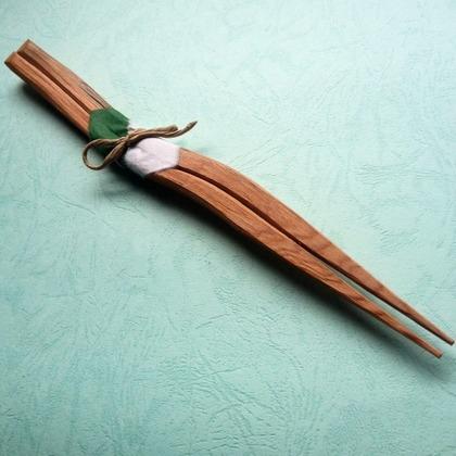 屋久杉箸 自作