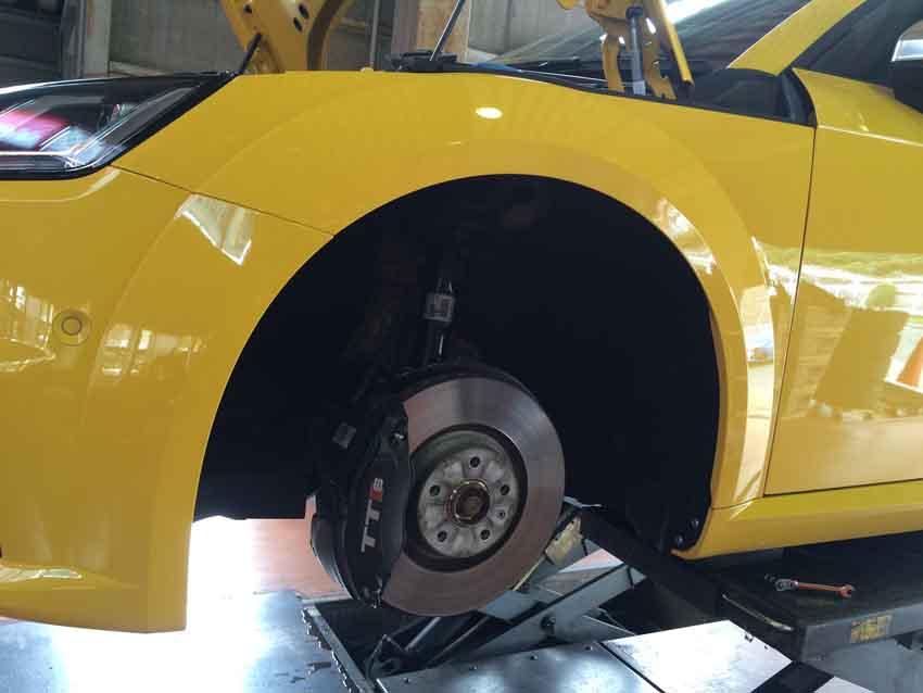 AUDI Mk3 TTS eibach Pro kit 02