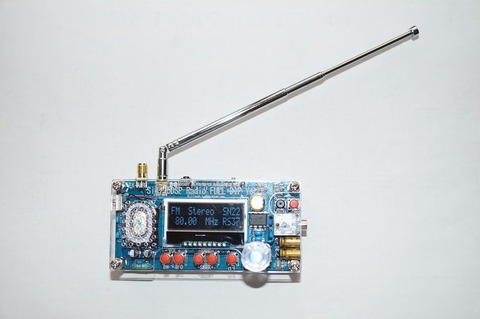 DSPラジオ正面