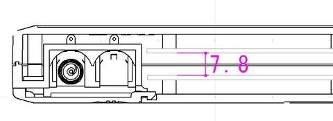 上下基板の隙間
