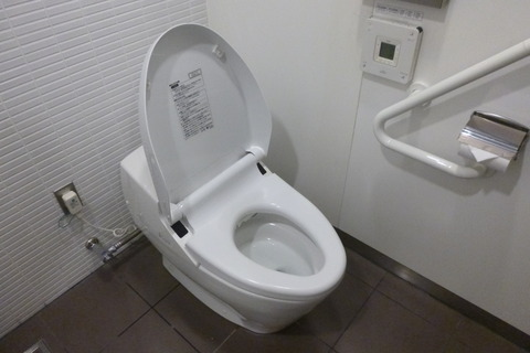 成田空港第2ターミナル、カンタス航空・ビジネスクラスラウンジのお手洗い