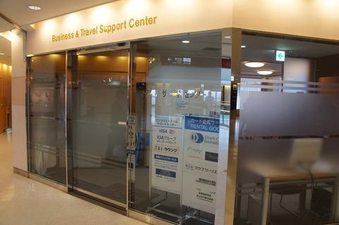 成田空港第1ターミナルのTEIラウンジ入口