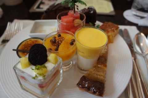 ウェスティン東京 ザ・テラスのデザートブッフェ