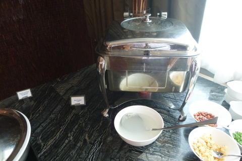 香港スカイシティマリオットホテルのお粥