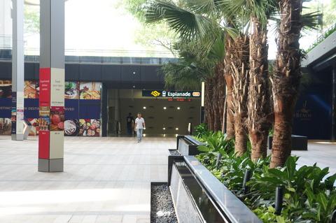 シンガポールEsplanade駅