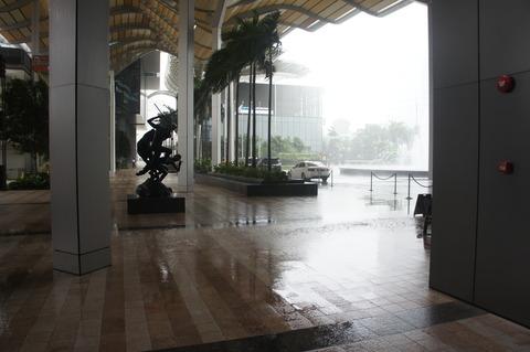 シンガポールのスコール
