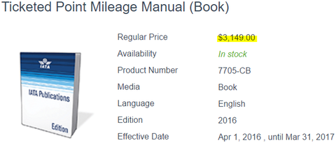 IATAのTPMは約30万円する