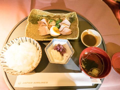 JAL ファーストクラス フミコの和食