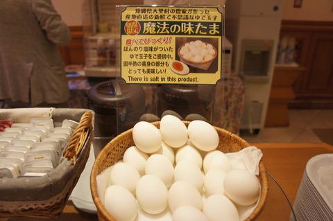 ホテルブライオン那覇のゆで卵
