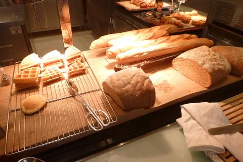 香港スカイシティマリオットホテルのパン