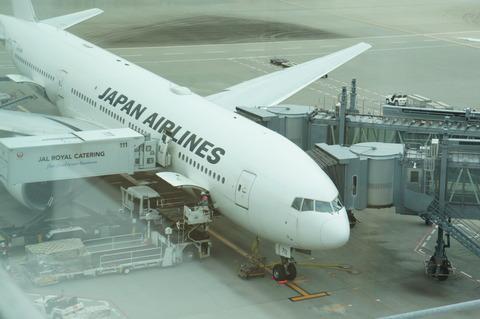JAL 飛行機