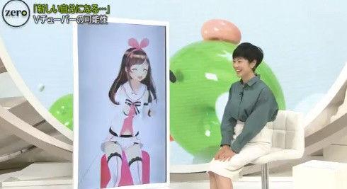 【Vtuber】昨日news zeroにTV出演したキズナアイちゃん!有働アナと対談まで!【Vチューン!掲示板より】