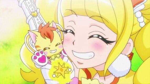 「ヒーリングっど プリキュア」 第18話 両思いの黄色チーム!ニャトランとひなたちゃんの魅力溢れてた!
