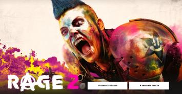 PS4/XB1「RAGE2」ベセスダ新作、オープンワールドFPS ゲームプレイ映像初公開!驚異のグラと世界観!!