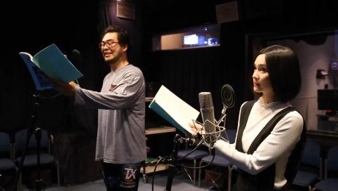 【声優動画】 「グラゼニ」 落合福嗣さんとM・A・Oさんの貴重なアフレコ風景&コメント動画!