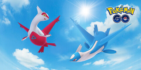 【ポケモンGO】ラティオス・ラティアスのレイドウィークエンドが開催決定!【6月12日~15日早朝まで】