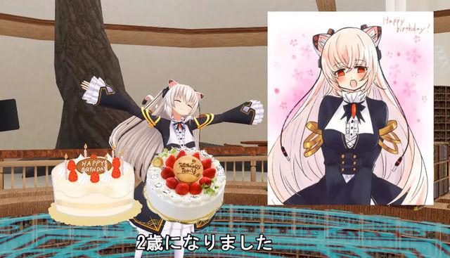 【Vtuber】本日のらきゃっと2歳の誕生日!お祝いの言葉が沢山でございます。【Vチューン!掲示板より】