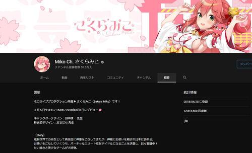 【ホロライブ】さくらみこちゃん活動復帰!10月21日に復帰ライブも開催!【Vtuber】