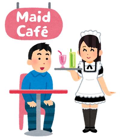 【紹介記事・エンタメ】 - メイド喫茶もマスクで接客 東京アラート後、初の週末・秋葉原