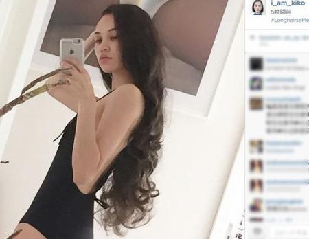 【エンタメ画像】【画像】韓国人モデルの水原希子 乳首の次はスク水