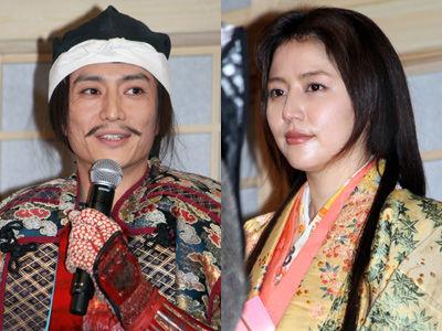 報道後初めてそろって登場した伊勢谷友介と長澤まさみ