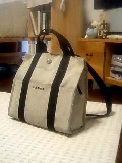クレイサスのバッグ