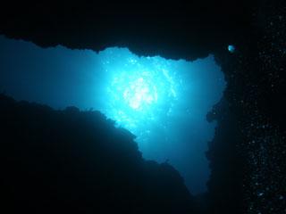 洞窟と太陽