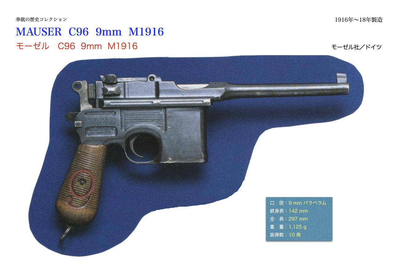 拳銃の歴史コレクション モーゼル社