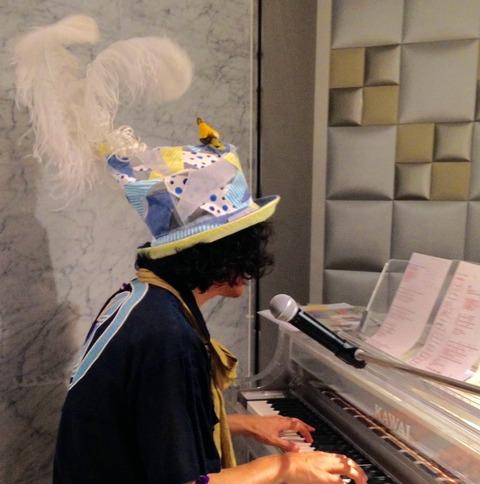 5/14 リンクス ピアノ弾き語り