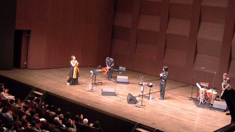 マーク アキクサ/イネ・セイミ Joint Concert