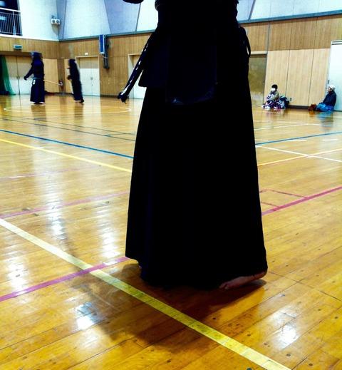 剣道の稽古へ