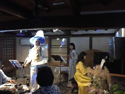 常滑屋、沢田酒造 周年記念パーティ演奏