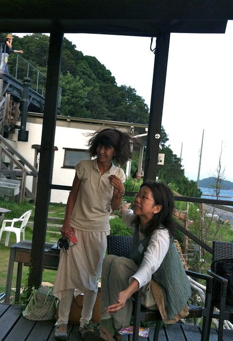 夏の終わりのBBQ@Cafe Ocean