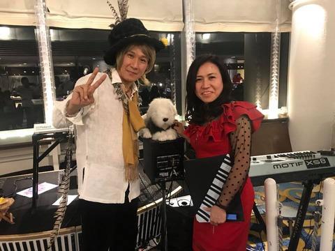 Dec.30 @Linx w/Ms.Mariko Ishibashi (piano/vocal)