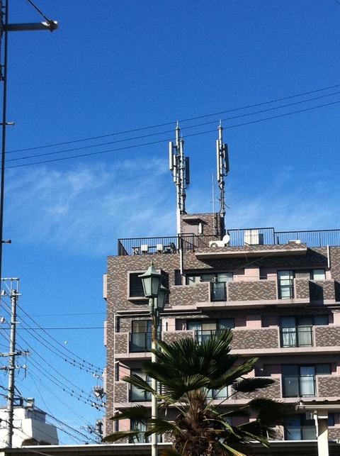 携帯電話アンテナ=GWEN TOWER!