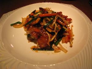 インドネシアの甘辛鶏の唐揚
