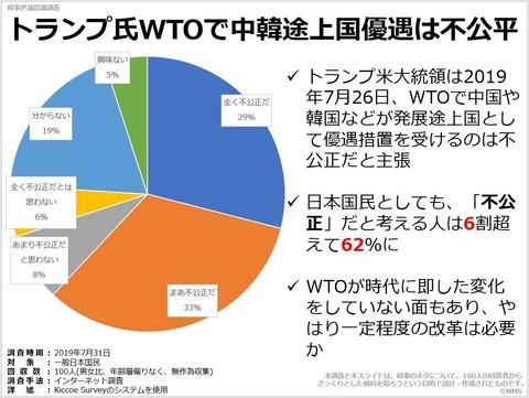 トランプ氏WTOで中韓途上国優遇は不公平のキャプチャー