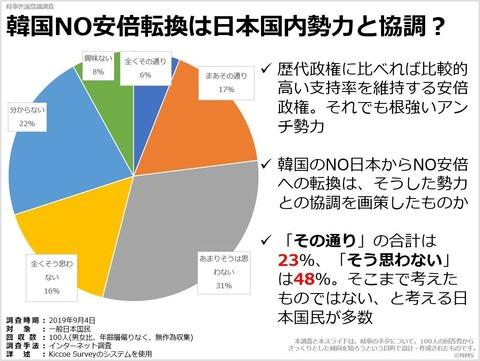 韓国NO安倍転換は日本国内勢力と協調?のキャプチャー
