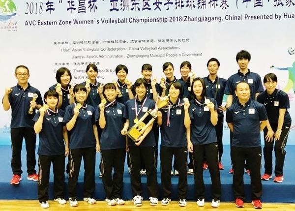 2018アジア東部選手権