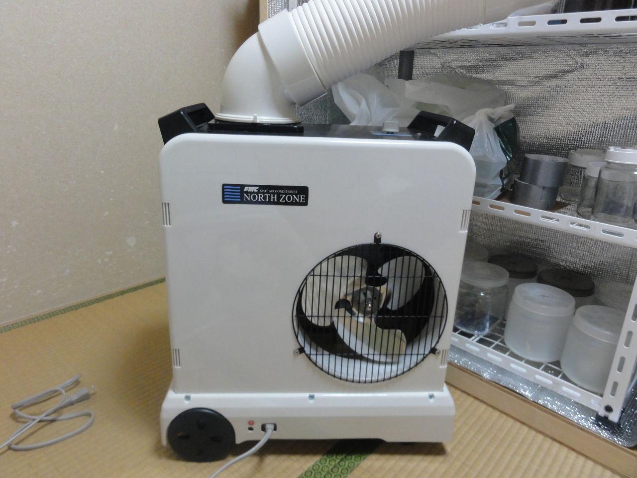 自作冷温室2号の制作 その2:クワガタ自己満ラボ