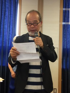 鎌田先生五山賞授賞式1