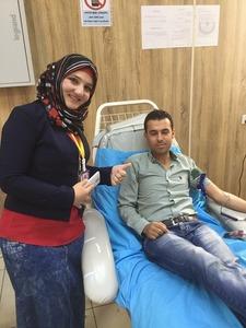 ラワンドの献血①